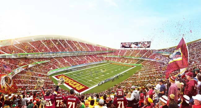Washington Redskins Stadium by BIG