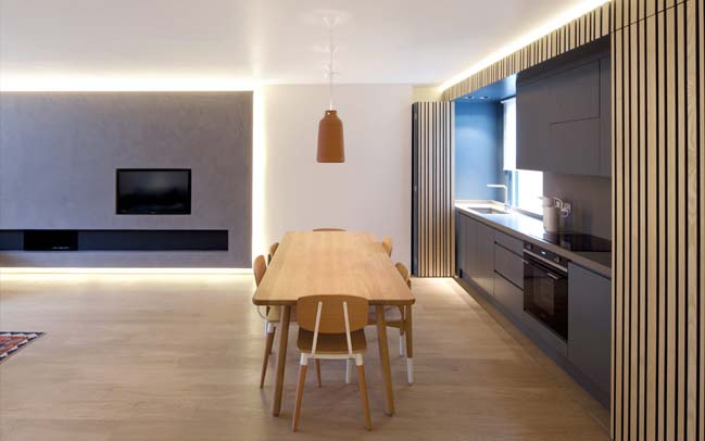Renovate apartment into a unique contemporary family home