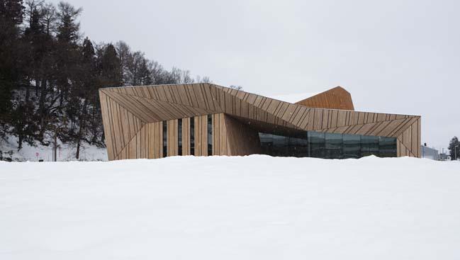 Iiyama Cultural Hall by Kengo Kuma and Associates