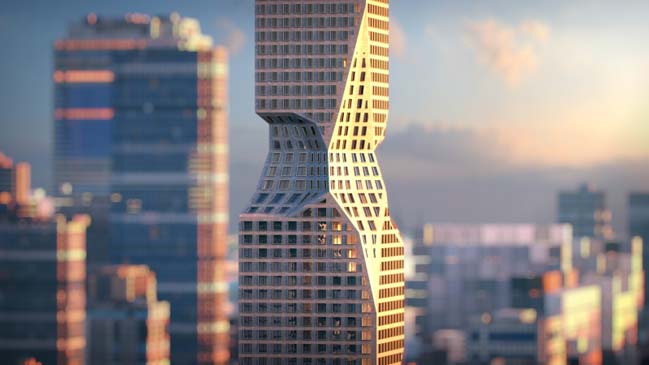Skyler: A new aging tower by Hollwich Kushner
