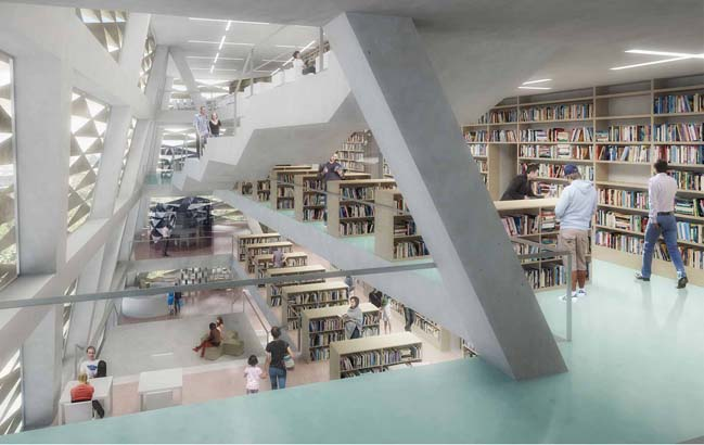 Varna Contemporary Library by PLUKK