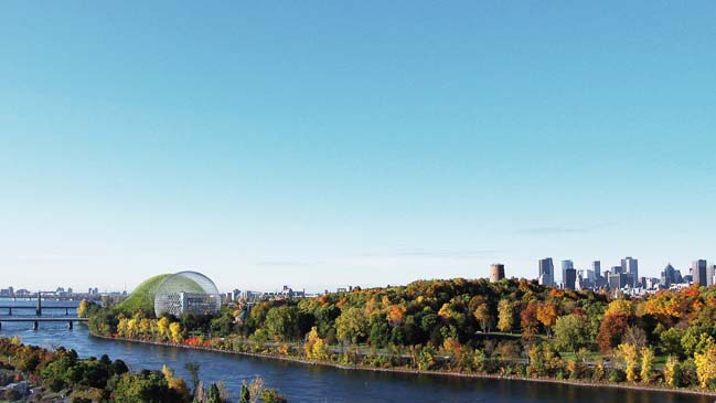 A new magical cultural icon for Montreal by Dror