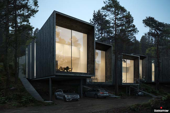 Forest house concept by imola for Concept homes