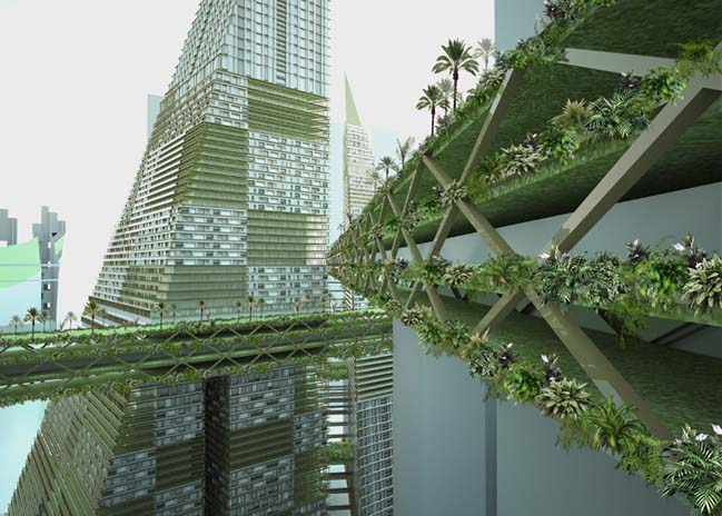 Tropical Pyramids by WY-TO Architects
