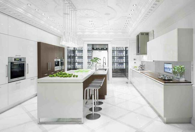 30 most beautiful white kitchen design ideas 2016 for Beautiful white kitchen designs