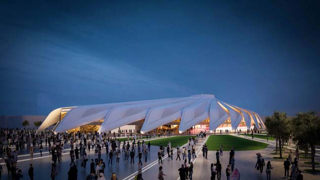 The UAE Pavilion for Dubai World Expo 2020 by Santiago Calatrava