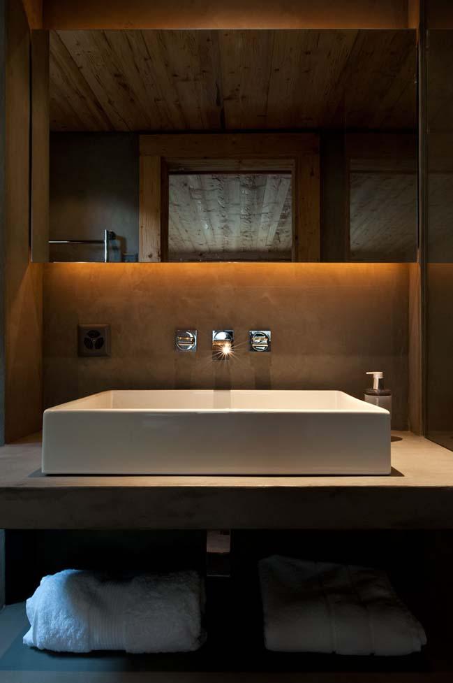 Cozy chalet in Switzerland by Ardesia Design