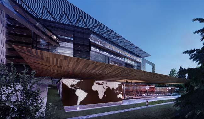 The new building of World Health Organization by RB+P