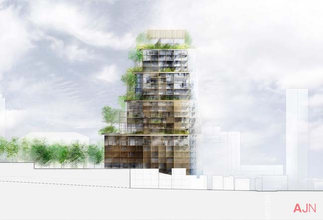 Torre Rosewood  by Jean Nouvel