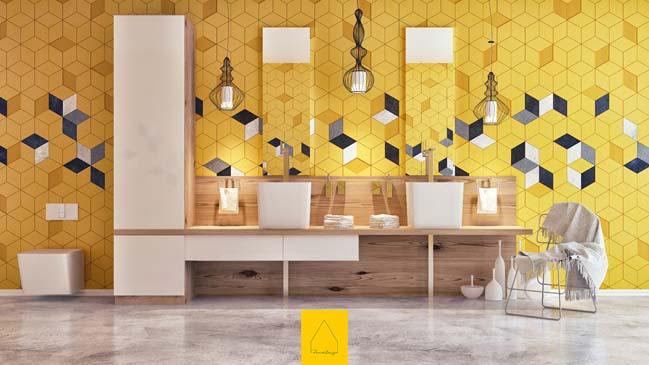 Corona bathroom design by Penintdesign Studio