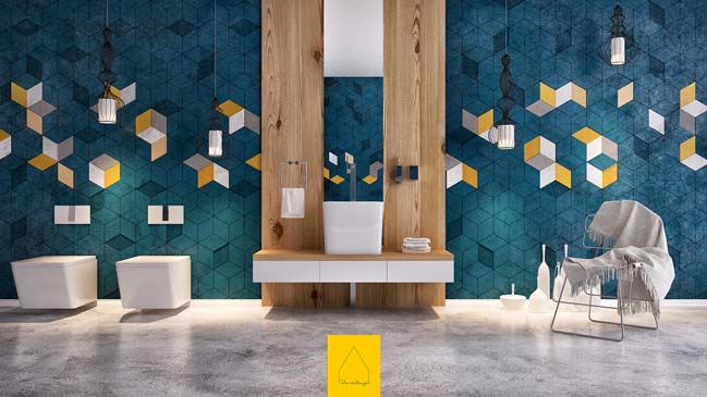 Corona bathroom design by Penintdesign Studio