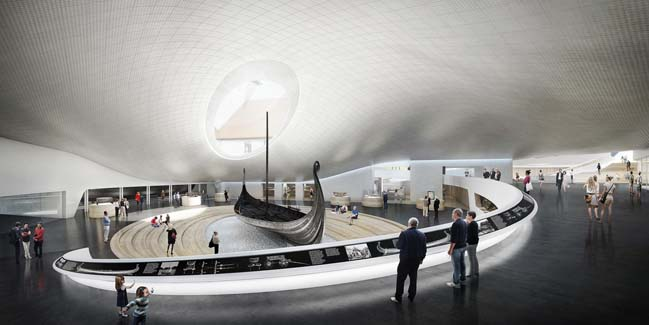 Viking Age Museum by GRAFT