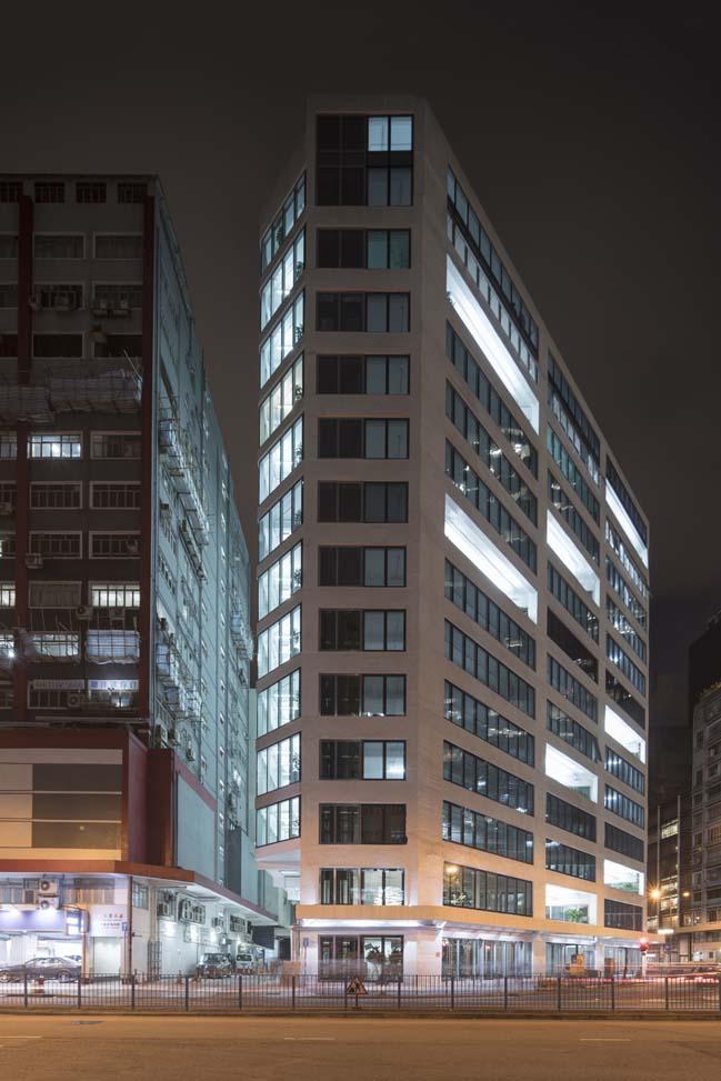 Glass office building in Hong Kong by MVRDV