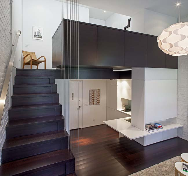 Micro loft renovation in Manhattan by Specht Architects
