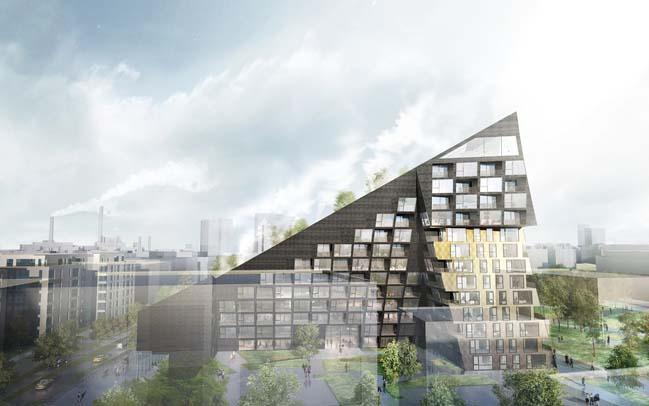 SATO Löylyramid by JDS Architects