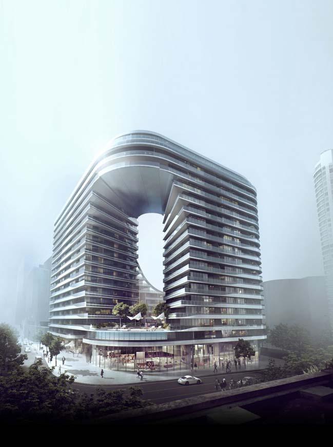 高田孝一(Koichi Takada)建筑師設計的豪華多住宅區
