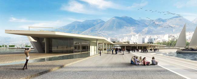 New Masterplan for the Old Port of Patras by O25