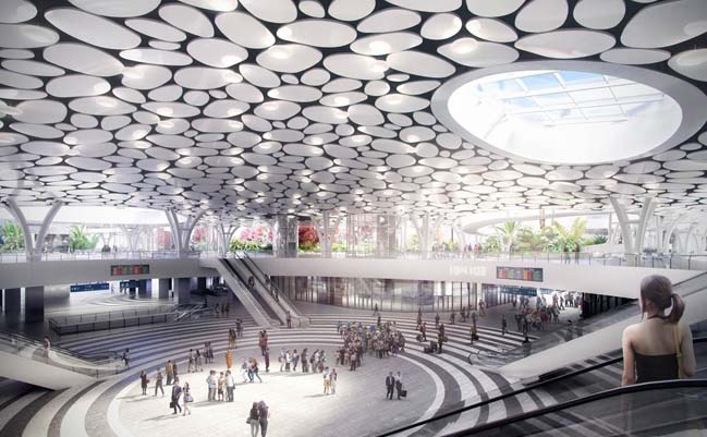 Kaohsiung Train Station by Mecanoo