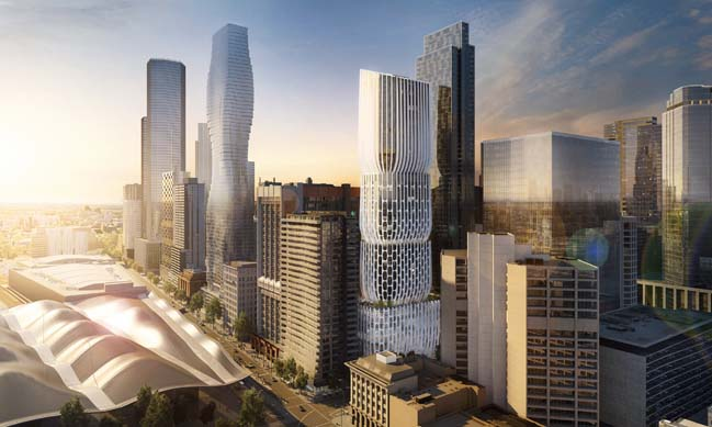 New images of 600 Collins Street by Zaha Hadid Architects