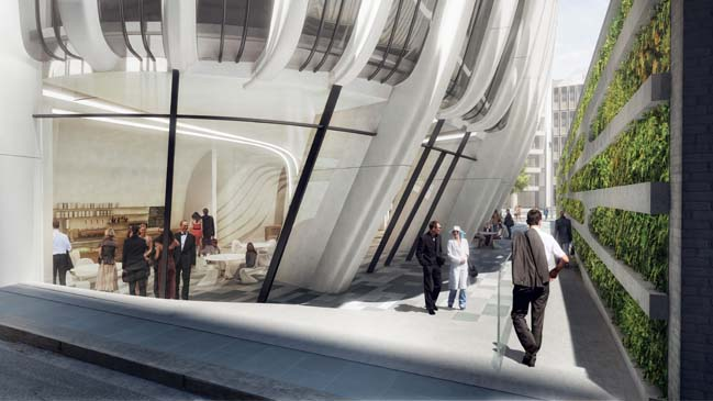 New images of 600 Collins Street project by Zaha Hadid Architects