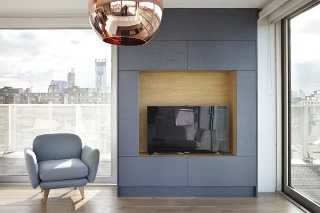 Borough Penthouse by Fraher