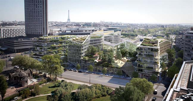 Reinvent Paris - Playground by 3xn