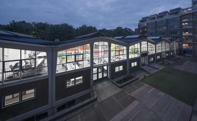 Interior renovation for the new MVRDV's office