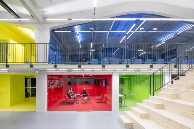 Interior renovation for the new MVRDV's office