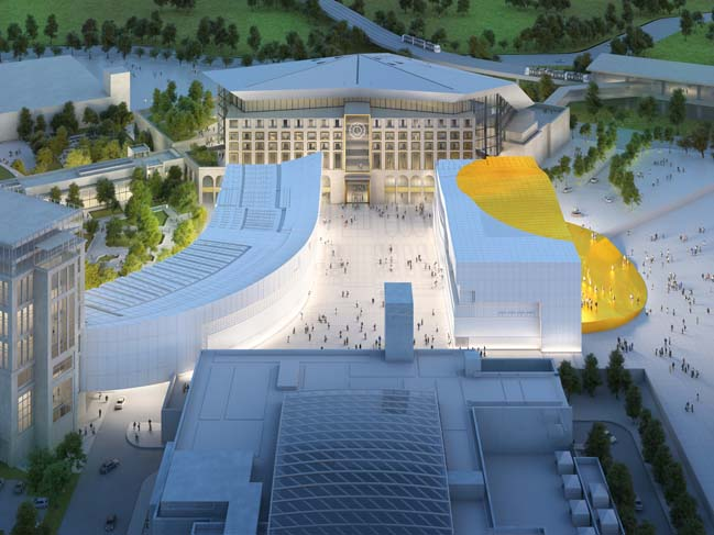 Entertainment Complex in Seoul by MVRDV