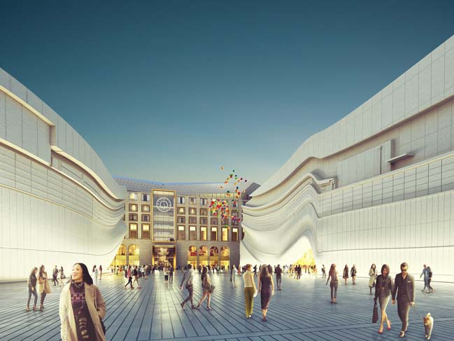 Entertainment Complex in Seoul by MVRDV
