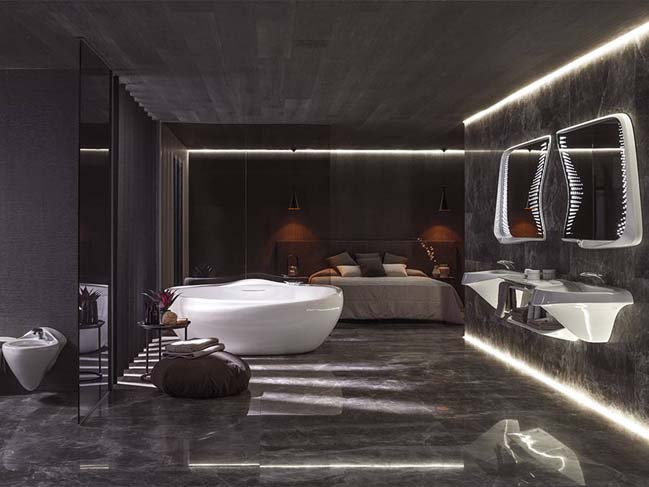 Vitae bathroom collection by zaha hadid design for Bathroom interior design concepts
