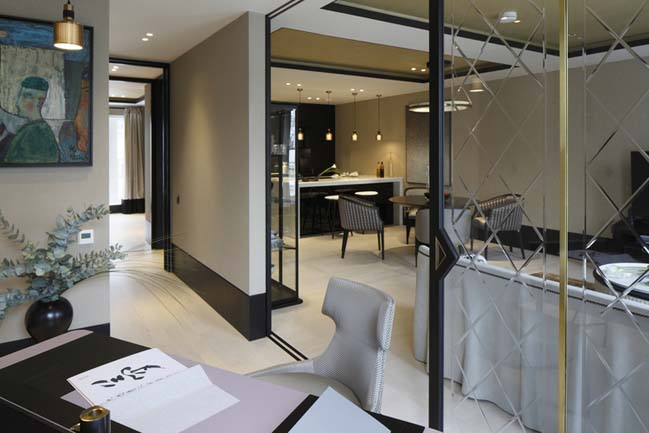 Luxury apartment in London by OpenAD