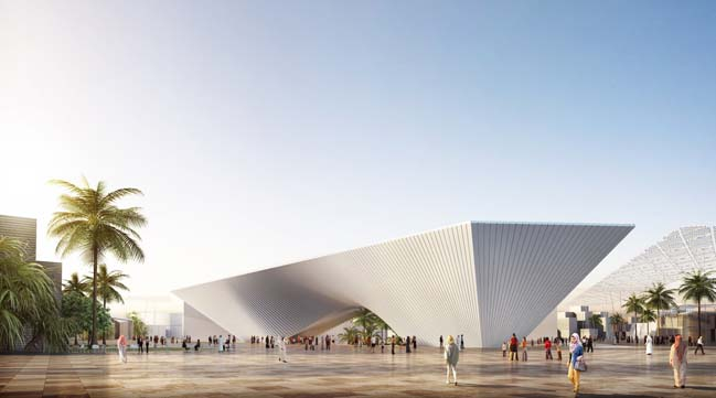 The Expo 2020 Opportunity Signature Pavilion by BIG