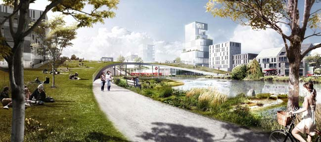 Vinge City by Henning Larsen Architects