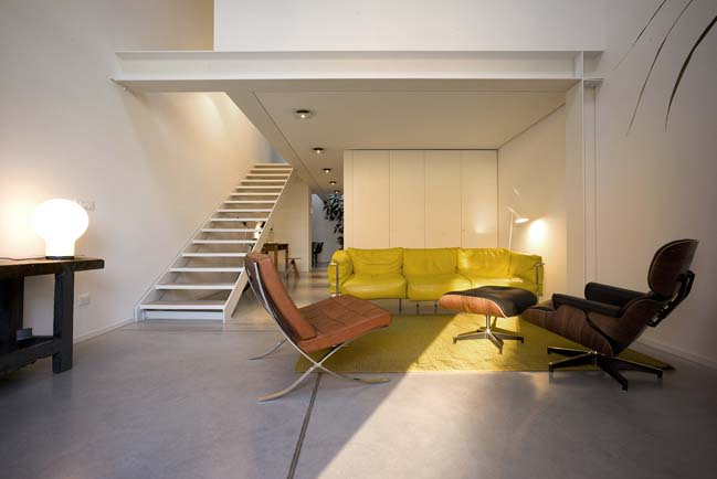 Modern loft renovation by Zanon Architetti Associati