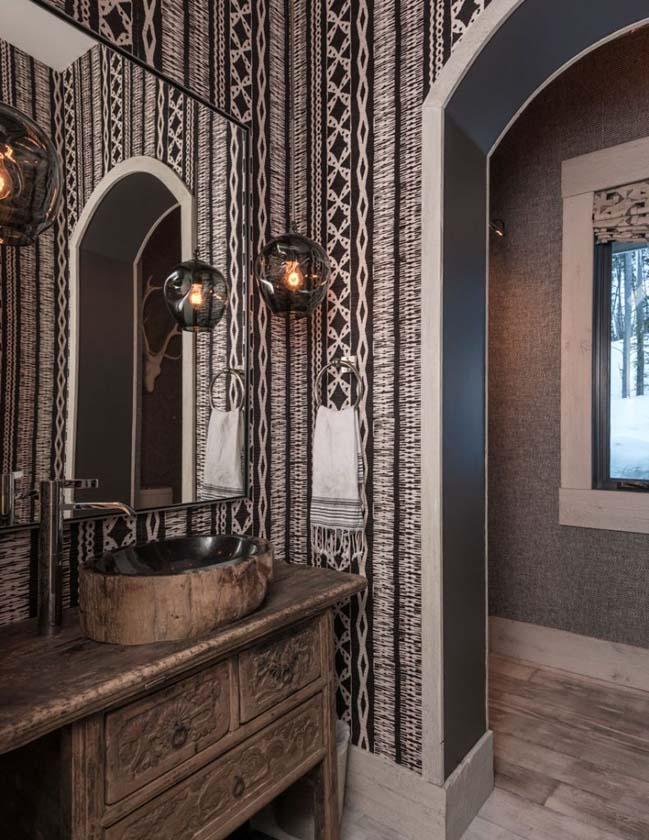 Extraordinary Mountain Chalet Interior Design