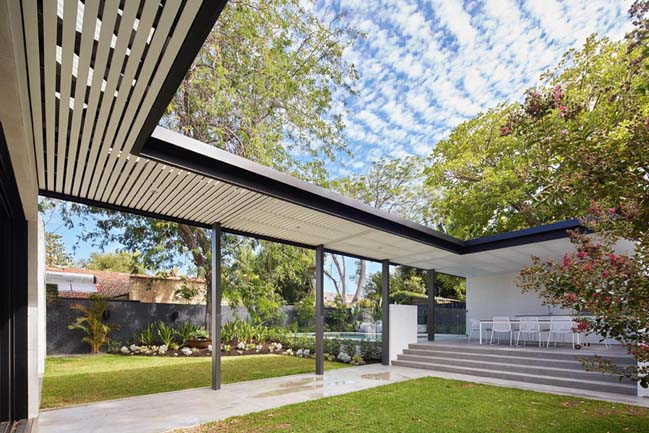 Modern house extension project in Perth by David Barr Architect