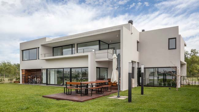 Luxury modern villa in Argentina