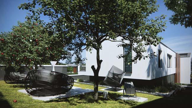Luxury modern villa by MUSA Studio