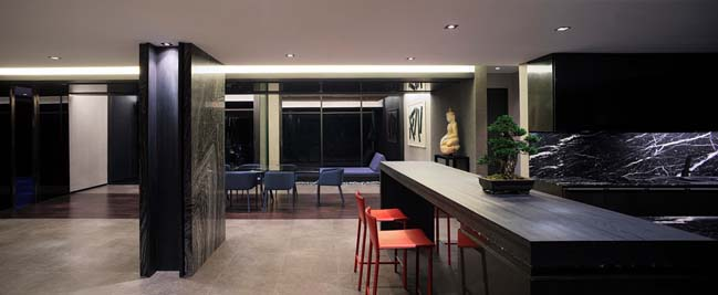 Luxury penthouse in Thailand by AAd
