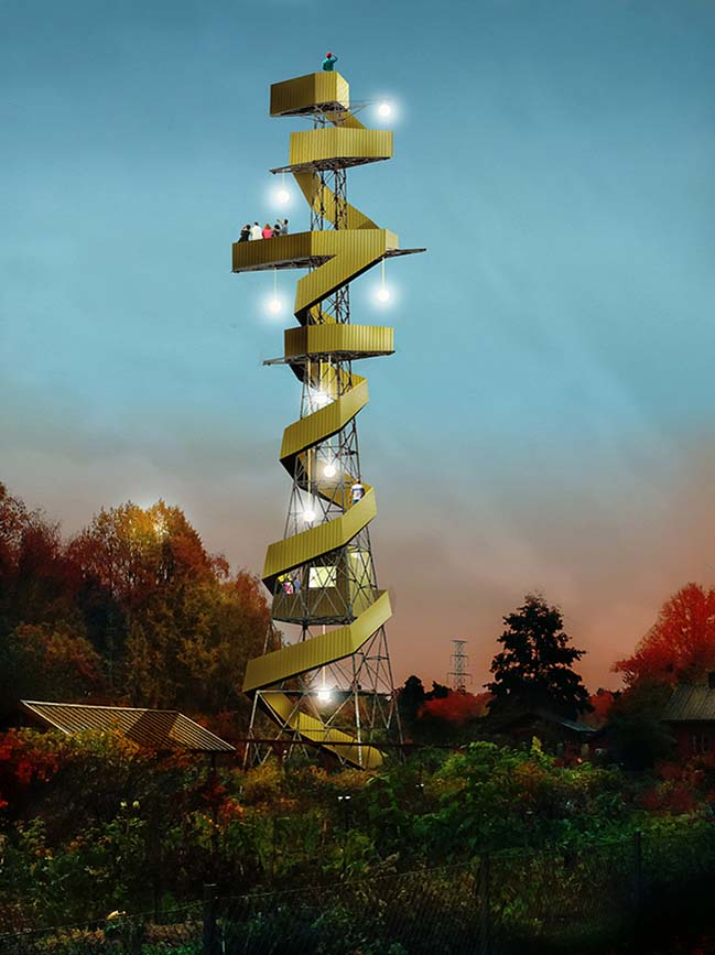 Power Tower by Anders Berensson Architects