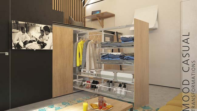 Small apartment-transformer by Ani Yenokyan