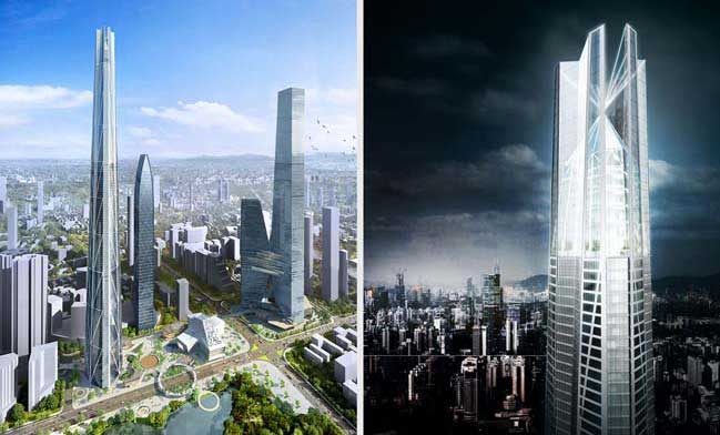 H700 Shenzhen Tower by bKL Architecture