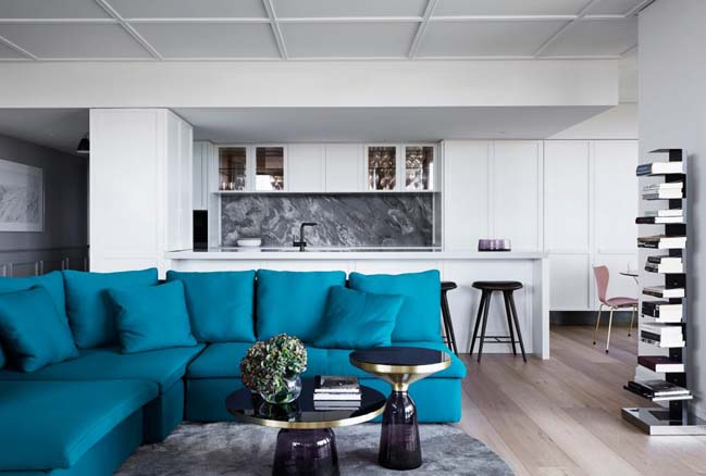 Modern penthouse in Melbourne by Studio Tate