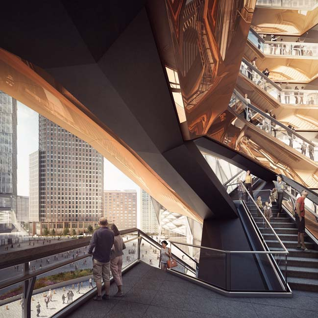 A new public landmark in Manhattan by Heatherwick Studio