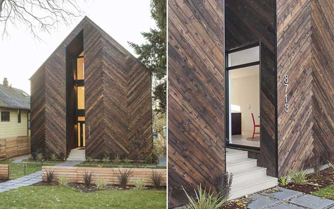 Palatine Passive House by Malboeuf Bowie Architecture