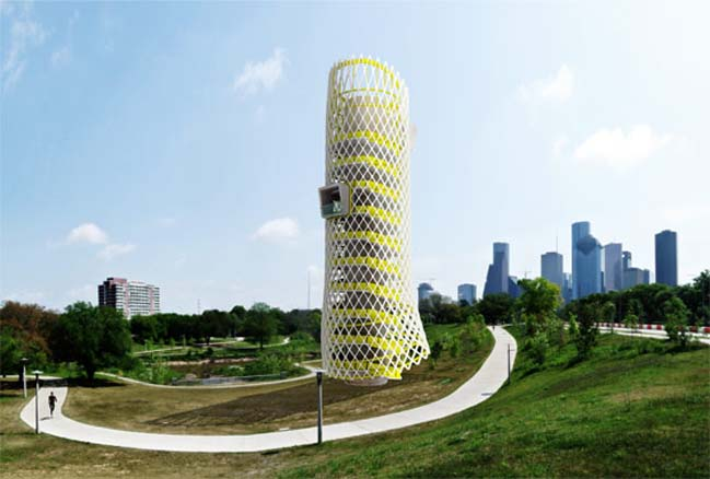 Bayou Park Observation Tower by Studio PAULBAUT