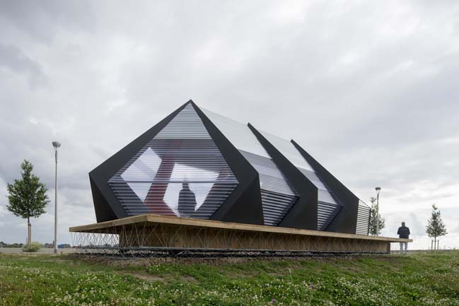 KAPKAR.SF-P7S Pavilion by Studio Frank Havermans