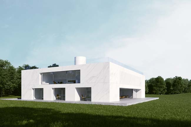 Modern Mansion by Maciej Grelewicz