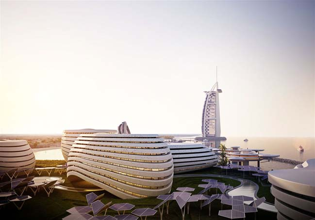 Architectural concept design for Dubai Expo 2020
